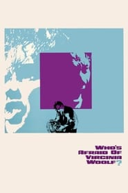 Poster Who's Afraid of Virginia Woolf? 1966
