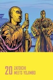 Affiche de Film Zatôichi Meets Yojimbo
