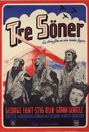Tre söner gick till flyget 1945