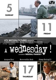 A Wednesday 2008 Hindi Movie BluRay 300mb 480p 900mb 720p 3GB 11GB 1080p