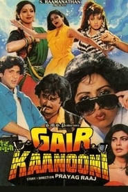 Gair Kanooni 1989 Hindi Movie AMZN WebRip 400mb 480p 1.3GB 720p 4GB 10GB 1080p