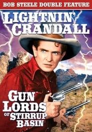 Poster Gun Lords of Stirrup Basin 1937