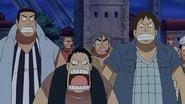 One Piece Season 8 Episode 252 : The Steam Whistle Forces Friends Apart! The Sea Train Starts to Run!
