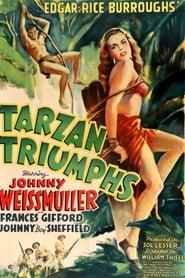 Poster Tarzan Triumphs 1943