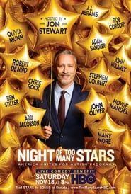 Poster Night of Too Many Stars 2012