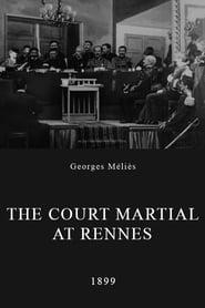 L'affaire Dreyfus, le Conseil de guerre en séance à Rennes