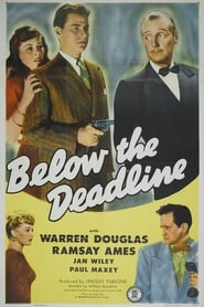 Poster Below the Deadline 1946