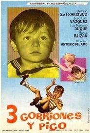 Tres gorriones y pico (1965)