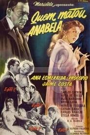 Poster Quem Matou Anabela? 1956