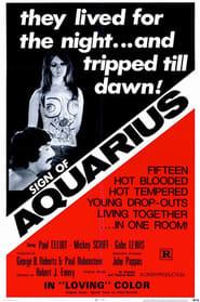 Poster Sign of Aquarius 1970