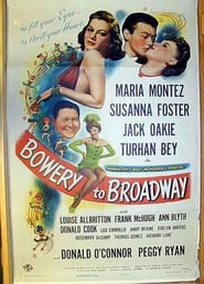 Bowery to Broadway poster