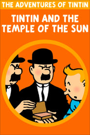 Poster Tintin and the Temple of the Sun 1969
