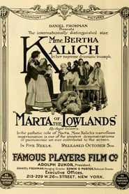 Marta of the Lowlands 1914