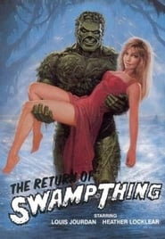 Poster de The Return of Swamp Thing (1989)