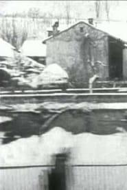 Panorama de l'arrivée à Aix-les-Bains pris du train (temps de neige) 1896