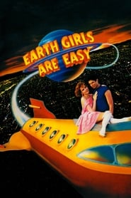 Poster Earth Girls Are Easy 1988