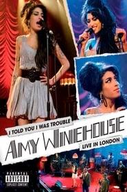 Amy Winehouse Live Shepherd's Bush Empire (2007)