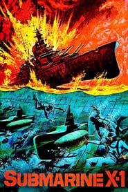 Poster Submarine X-1 1969