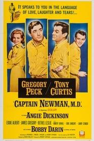 Poster Captain Newman, M.D. 1963