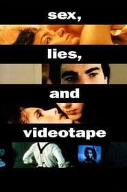 Poster Sex, Lies, and Videotape 1989