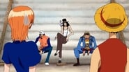 One Piece Season 8 Episode 233 : Pirate Abduction Incident! A Pirate Ship That Can Only Await Her End!