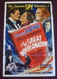 Poster The Great Impersonation 1935