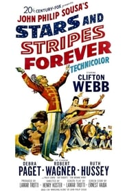 Poster Stars and Stripes Forever 1952