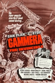 Poster Gammera the Invincible 1966