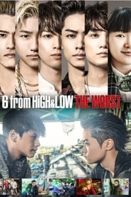 6 from HiGH&LOW THE WORST poster