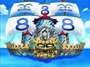 One Piece Season 1 Episode 59 : Luffy, Completely Surrounded! Commodore Nelson's Secret Strategy!