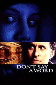 Poster Don't Say a Word 2001