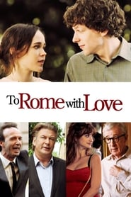 Poster To Rome with Love 2012
