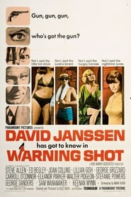 Poster Warning Shot 1967