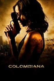 Poster for the movie, 'Colombiana'