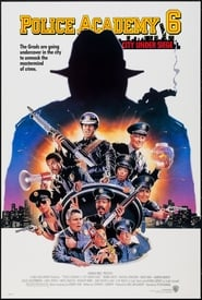 Poster Police Academy 6: City Under Siege 1989