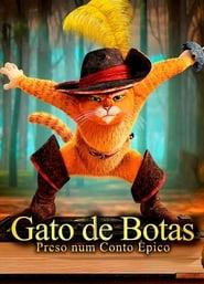 Gato de Botas preso num conto epico