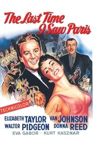 The Last Time I Saw Paris 1954 ポスター