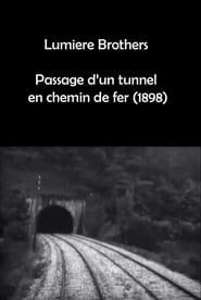 Passage d'un tunnel en chemin de fer 1898