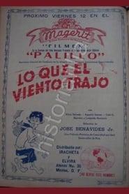 Poster Lo que el viento trajo 1941