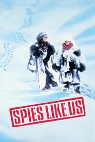 Poster Spies Like Us 1985