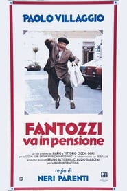 Poster Fantozzi Retires 1988