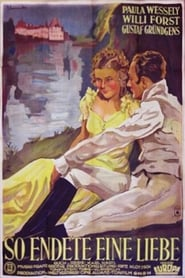 Poster So Ended a Great Love 1934