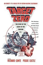 Poster Target Zero 1955