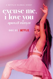 Poster ariana grande: excuse me, i love you 2020