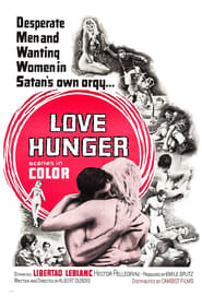 Poster Love Hunger 1962