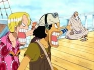 One Piece Skypiea Arc Episode 168 : A Giant Snake Bares Its Fangs! The Survival Game Begins!