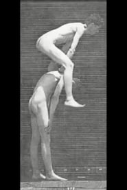 Boys Playing Leapfrog: Side View 1887
