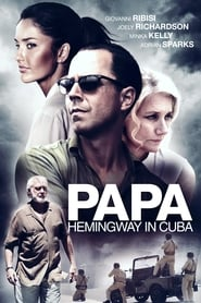 Poster for Papa Hemingway in Cuba