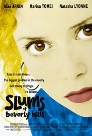 Poster Slums of Beverly Hills 1998