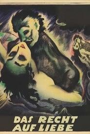 Das Recht der freien Liebe 1920